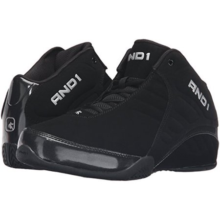7c871c90636 AND1 - AND1 ROCKET 3 MID Mens Black Athletic Basketball Sneaker Shoes -  Walmart.com
