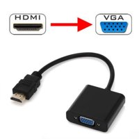 HDMI Male to VGA Female Video Cable Cord Converter Adapter For PC Monitor 1080P