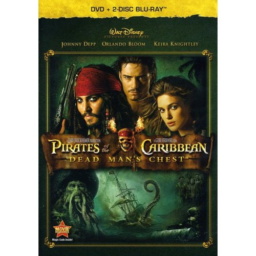 PIRATES OF THE CARIBBEAN DEAD MANS CHEST (BR/DVD/3 DISC COMBO)