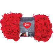 Red Heart Boutique Fur Yarn-Cherry