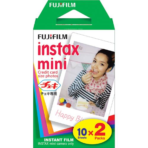 Fuji Instax Mini Instant Color Film (2-Pack)