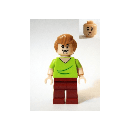 LEGO Scooby Doo Shaggy - Open Mouth Grin Minifigure - Lego Halloween Scooby Doo