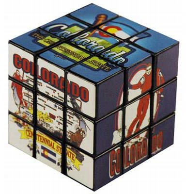 Jenkins Colorado Toy Puzzle Cube (pack Of 96)
