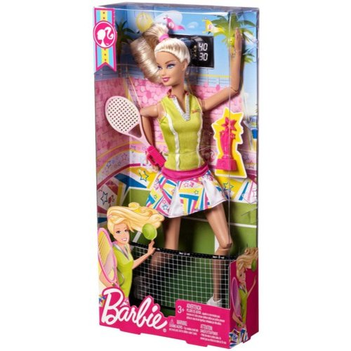Barbie I Can Be Tennis Champion Doll