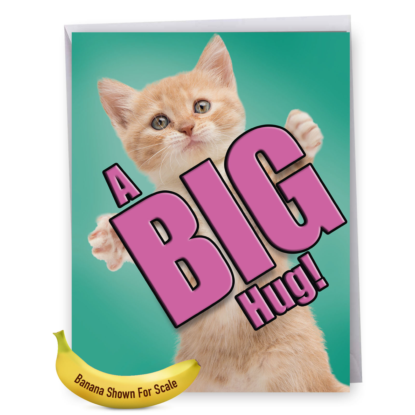 J6614GMYG Large Miss You Card: 'J6614GMYG Miss You: Cat A