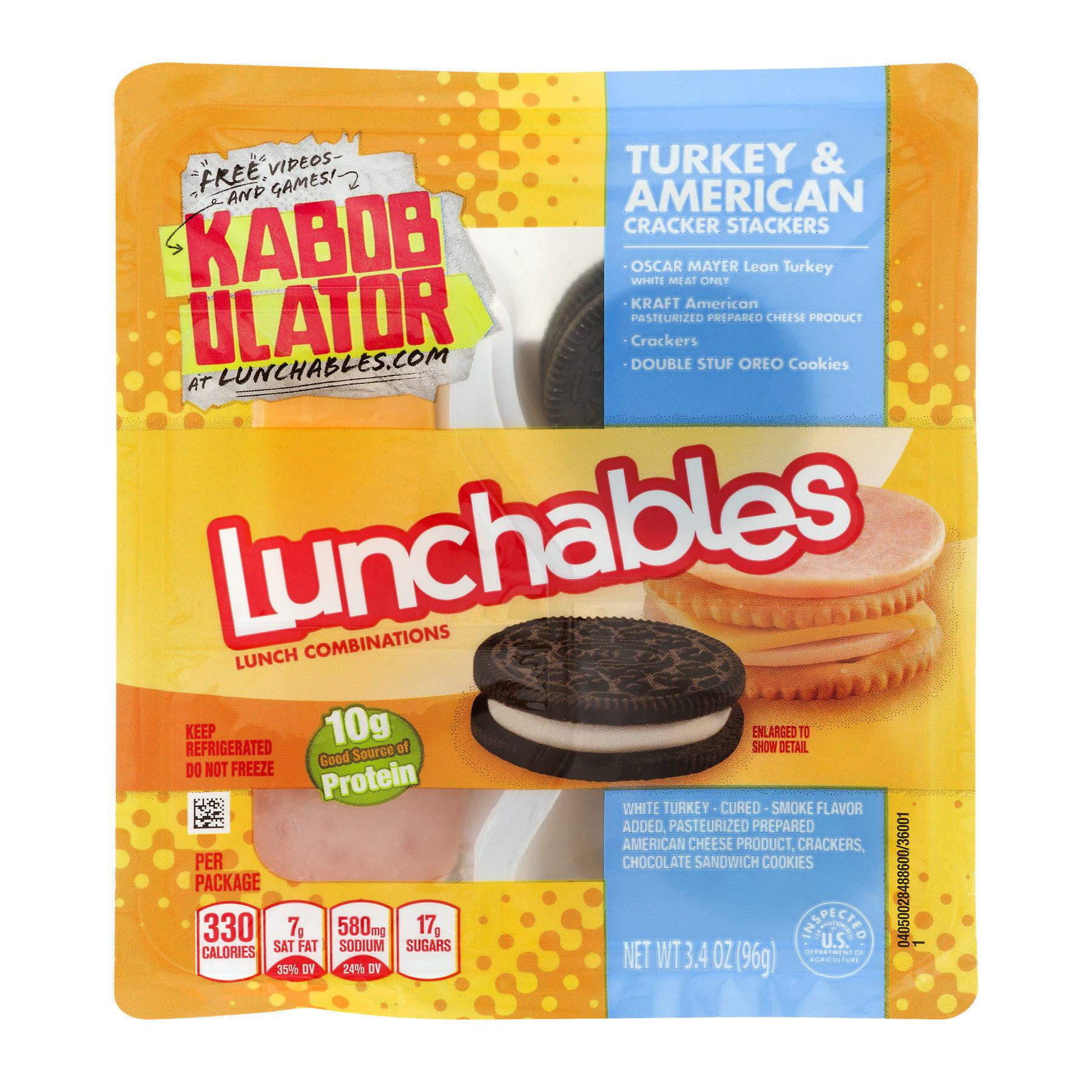 Lunchables cracker stackers turkey american 34 oz walmart solutioingenieria Gallery
