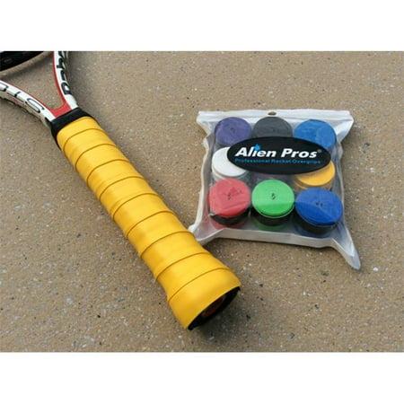 Alien Pros Confortable Tacky-feel Surgrip absorbant la sueur et durable 9 couleurs Paquet de 9 - image 1 de 1