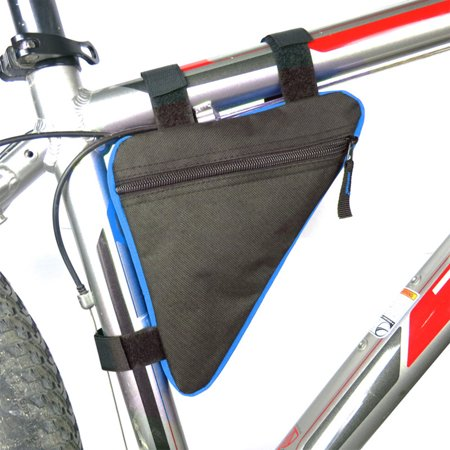 Triangle Bicycle Frame Front Tube Bag Cycling Bike Pouch Holder Saddle Panniers