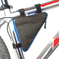 Product Image Triangle Bicycle Frame Front Tube Bag Cycling Bike Pouch Holder Saddle Panniers