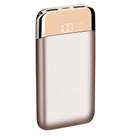 LAX Pro 12k Power Bank Battery Pack - Charges your smartphone up to 6 times - for iPhone, Samsung, LG, Google - (Best Iphone Battery Pack 2019)