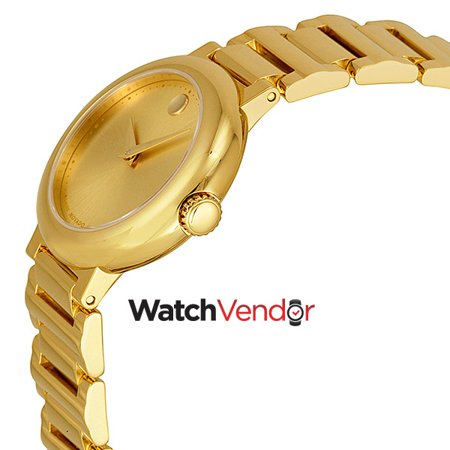 Movado Museum Gold Dial Yellow Gold-plated Ladies Watch 0606704 - image 1 of 4