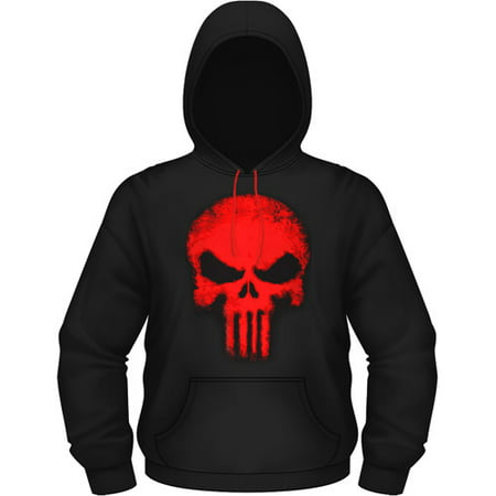7ef6e365a Mad Engine - Marvel The Punisher Men's Punisher Skull Hooded Hoodie ...