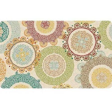 Better Homes Amp Gardens Lace Medallion Comfort Kitchen Mat