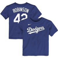 Jackie Robinson Los Angeles Dodgers Nike Toddler Player Name & Number T-Shirt - Royal