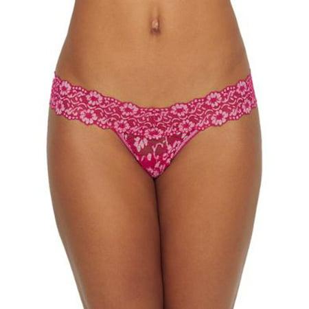 Hanky Panky Womens Cross Dyed Low Rise Thong Style-591054 Low Rise Bikini Panty