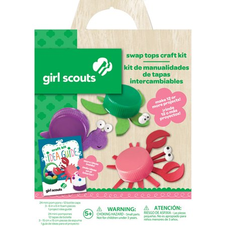 Girl Scouts Swap Tops Craft Kit