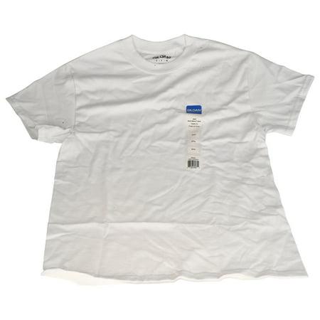 Gildan Small White Adult Short Sleeve T-Shirt, 1 Each