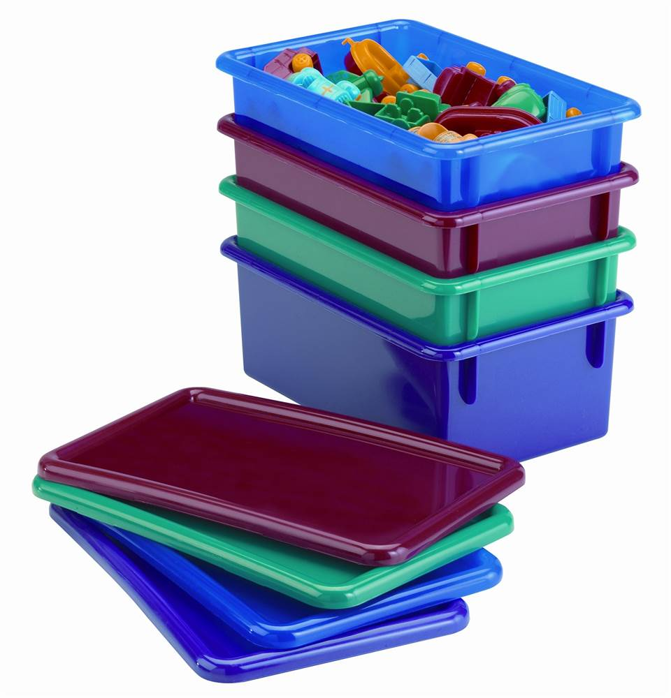 Jonti Craft Cubbie Tray (Blue, Red)