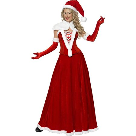 Mrs. Santa Claus Adult Costume (Origin Of Santa Claus)