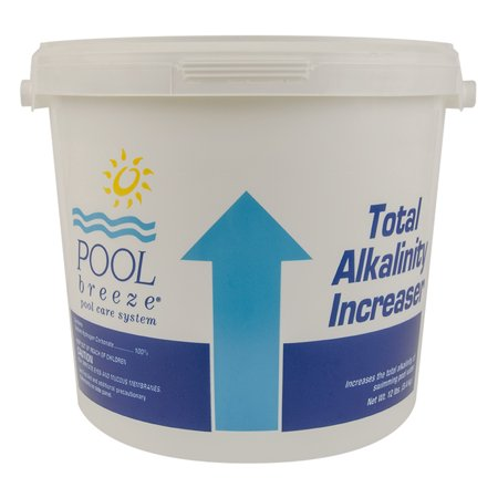 Pool Breeze Swimming Pool Alkalinity Up Increaser Plus Sodium Bicarbonate 12 Lb Bucket