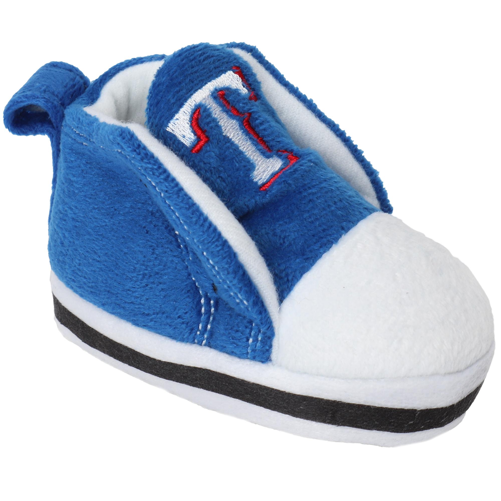 Texas Rangers Newborn & Infant High Top Baby Booties