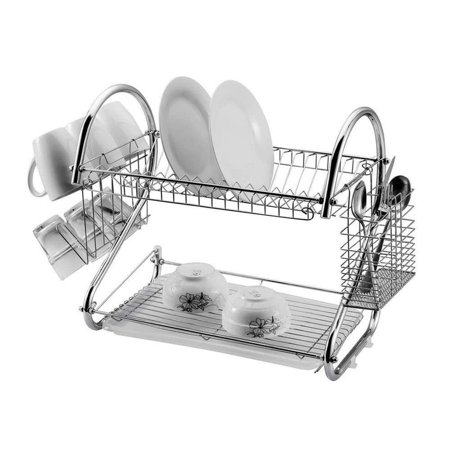 2 Tier 15 74 X 14 57 X 9 84 Quot S Shaped Dish Rack And