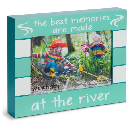 Pavilion - The Best Memories are Made at the River 6x4 Picture