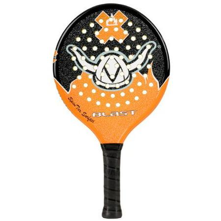 "Viking 2013 Blast Junior Platform Tennis Paddle - Black/Orange - 4"""