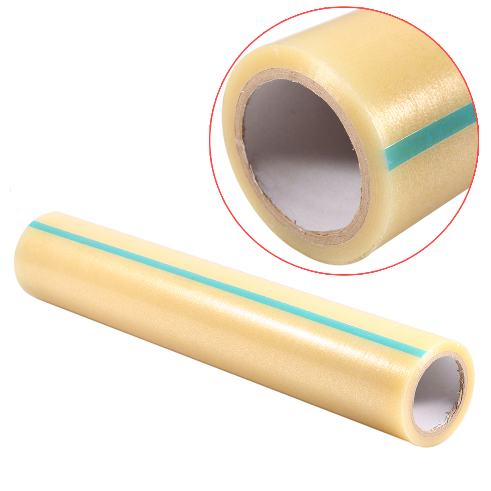 VGEBY Carpet Protector Self Adhesive Plastic Protection Film 24  X 328ft  for Stairs Rug Carpet Floor Runner - Heavy Duty Puncture & Water Resistant