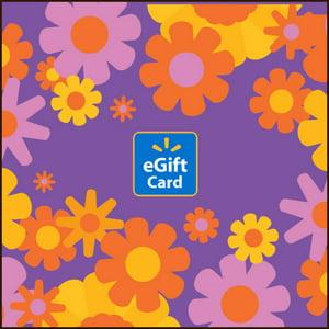 Spring Flowers Walmart eGift Card
