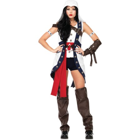 Leg Avenue Assassin's Creed Connor Girl Adult Halloween Costume](Assassin's Creed Costumes Halloween)