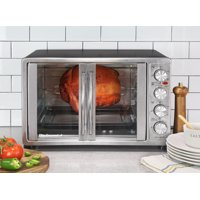 Elite Gourment ETO-4510M Double Door Oven with Rotisserie and Convection
