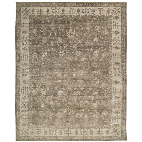 Nourison Aldora Hand-Knotted Sand Area Rug by Nourison