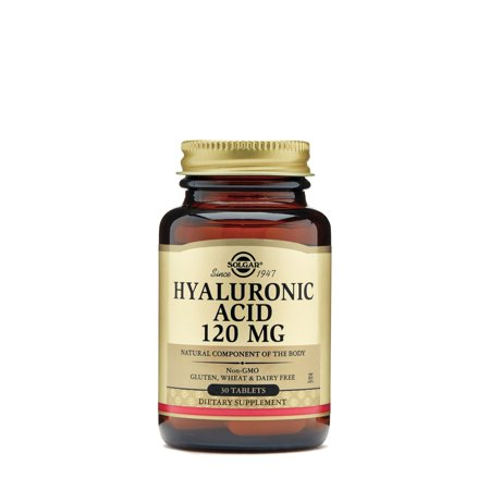 Solgar hyaluronic acid 120 mg - 30 tablets