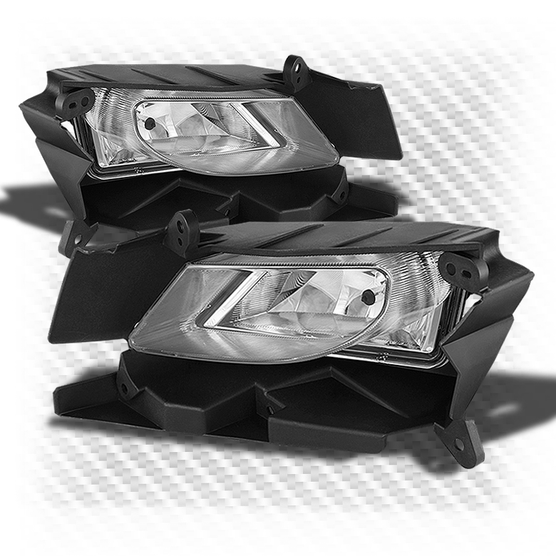 2010-2011 Mazda3 CLR Driving Fog Lights Rainy Lamps Left+Right w/Light Bulbs Pair Left+Right
