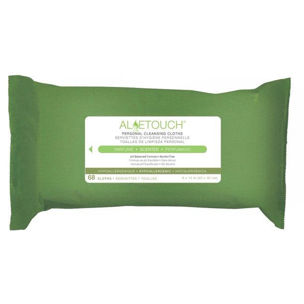 Aloetouch Personal Cleansing Wipes - MSC263754