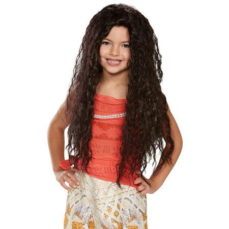 Disney Princess Moana Deluxe Child Wig - Size One-Size