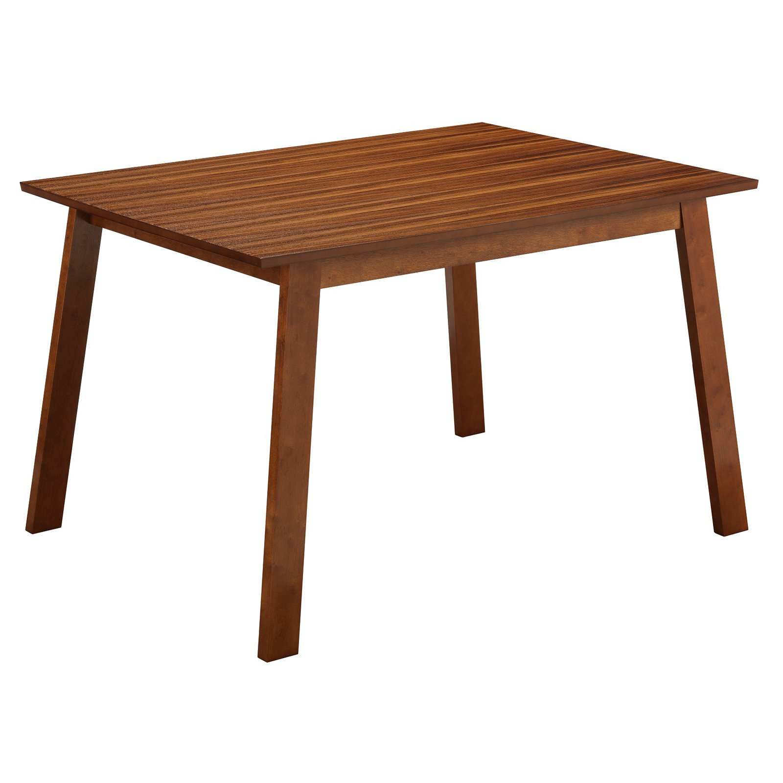 Boraam Zebra Series Hagen Dining Table, Walnut