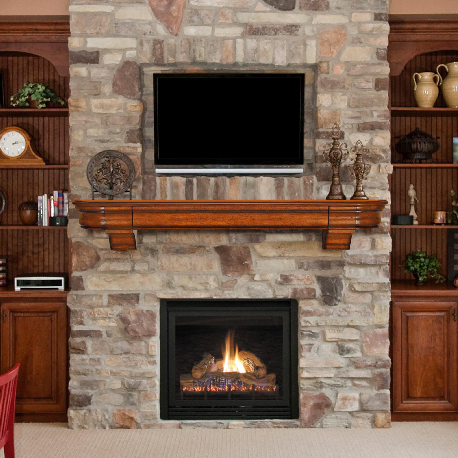Free Shipping. Buy Pearl Mantels Abingdon Fireplace Mantel Shelf with Secret Drawer at Walmart.com