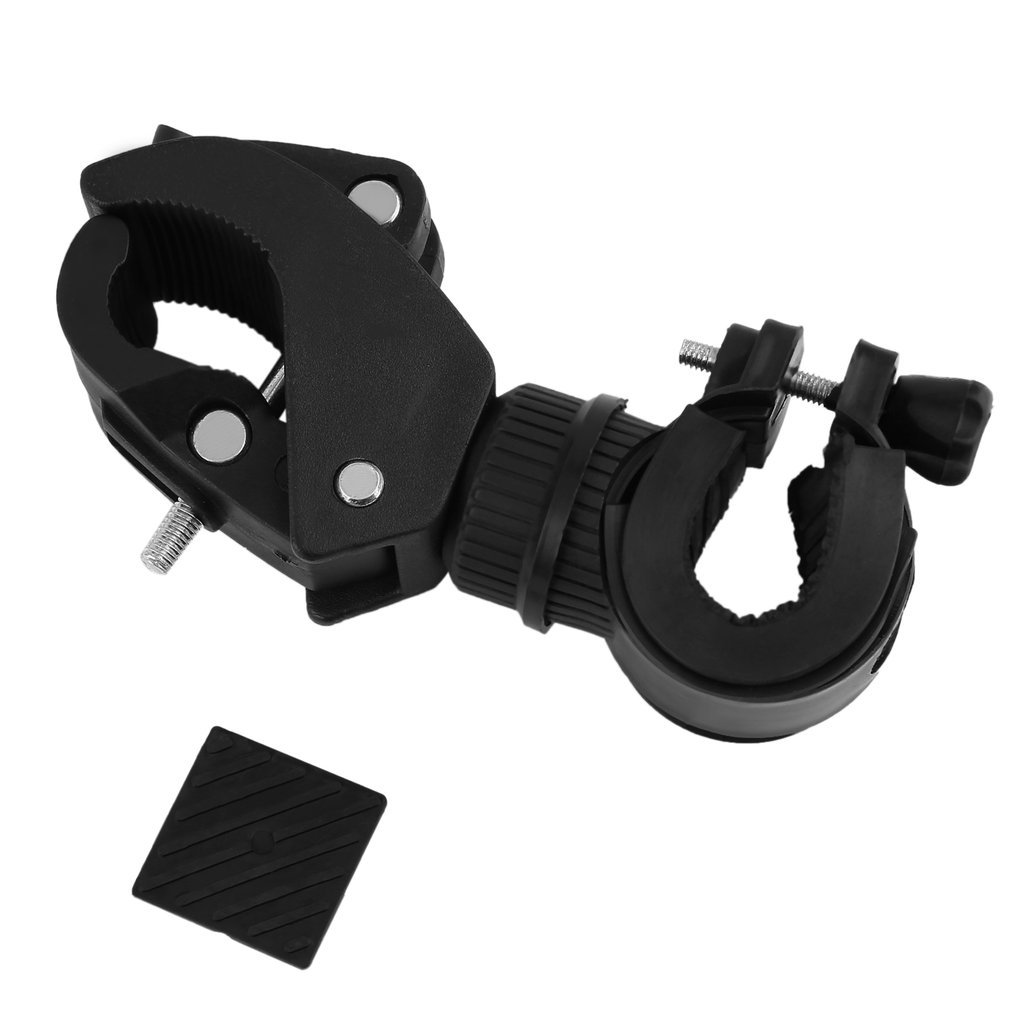 360 Degree Cycling Bicycle Bike Mount Holder for LED Flashlight Torch Clamp
