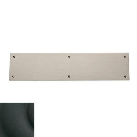 Baldwin 2123190 3.5 x 15 in. Square Edge Push Plate, Satin Black - image 1 de 1