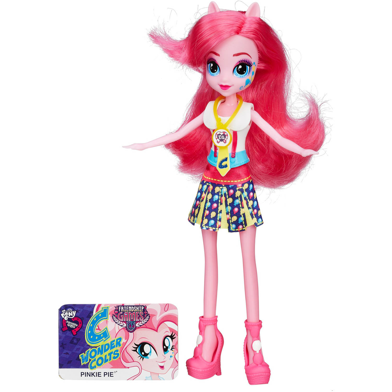 My Little Pony Equestria Girls Pinkie Pie Friendship Games Doll