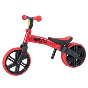 Yvolution Y Velo Junior Toddler Balance Bike | 18 Months - 4 Years (Red)