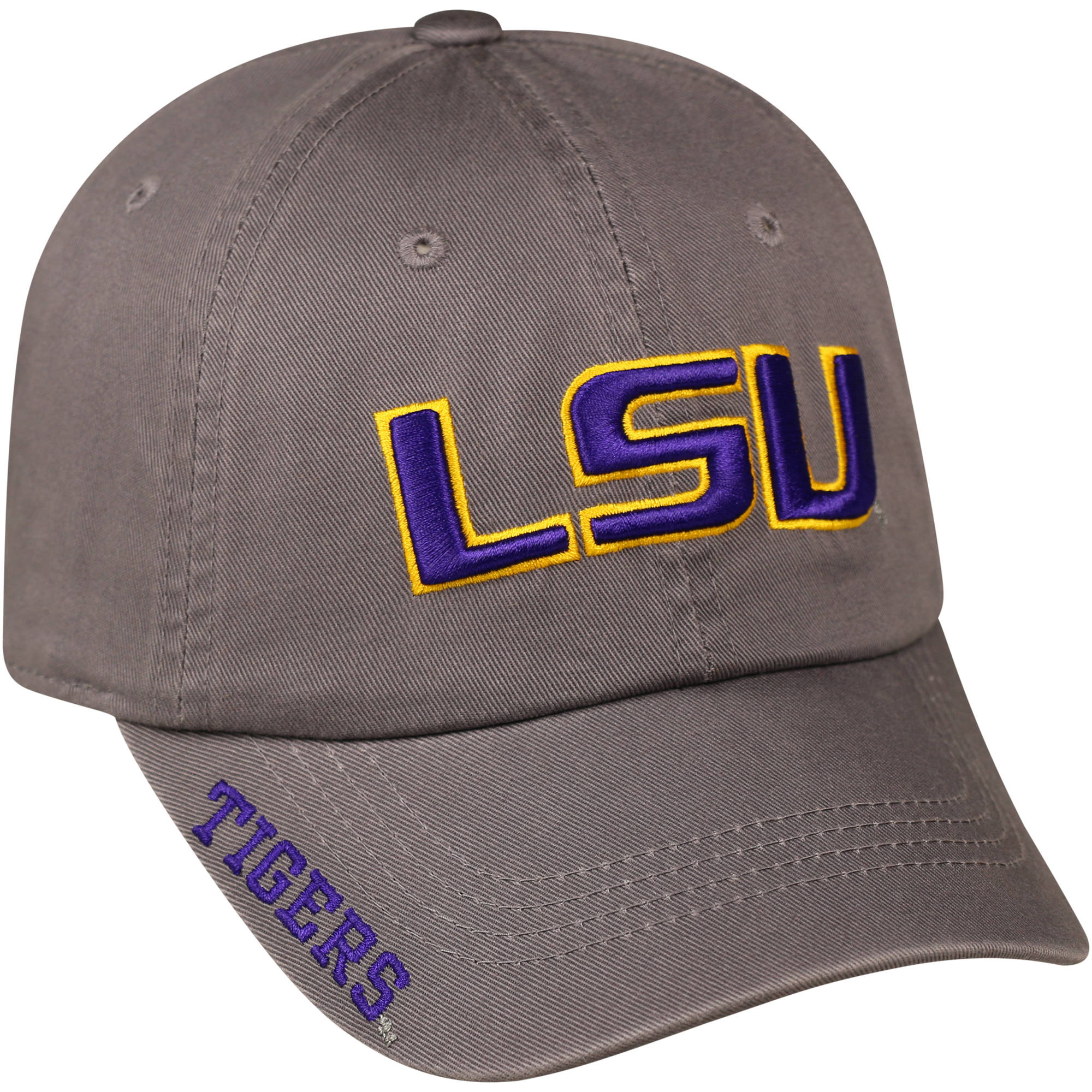 NCAA Men's LSU Tigers Grey Cap