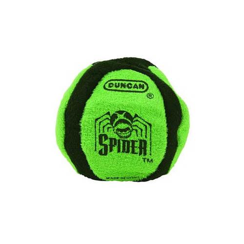 3906SA Spider 6 Panel Sand Filled Footbag Multi-Colored