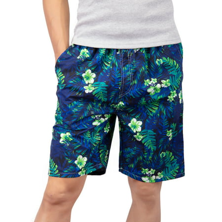 Men's Swim Trunks Quick Dry Bathing Suits Beach Holiday Party Swim Shorts Blue Size L-4XL](Old Fashioned Mens Bathing Suit)
