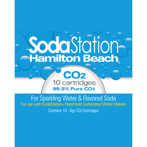 Hamilton Beach SodaStation CO2 Cartridges, 10pk