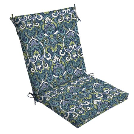 Arden Selections Sapphire Aurora Damask 44 x 20 in. Outdoor Chair Cushion ()