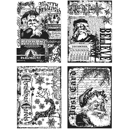 Tim Holtz Cling Rubber Stamp Set