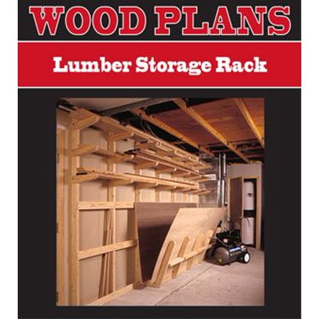 Lumber Storage Rack Woodworking Paper Plan Pw10078 By Peachtree